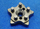 Sintered part for motorcycle transmission